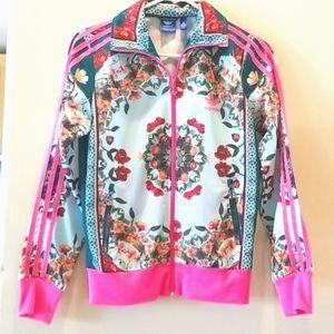 Adidas x FARM Rio Floral Street Jacket HTF RARE  M